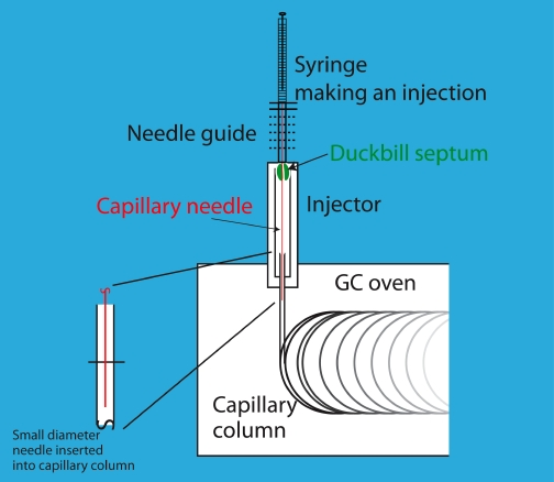 Split/Splitless and On-Column Gas Chromatographic Injectors