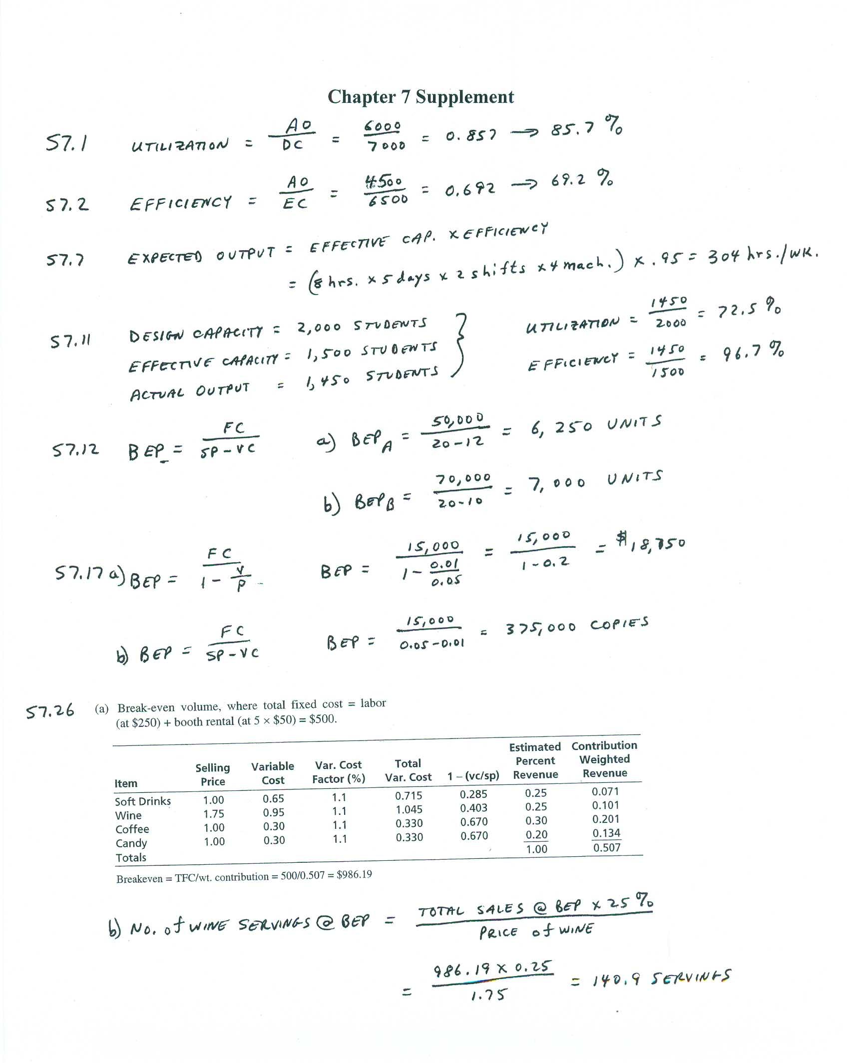 Quantitative analysis homework help