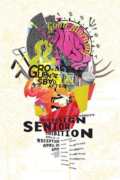 Graphic Design Exhibit Poster