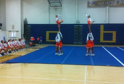 Cheerleaders Named  All Pretty Girl Cheer Stunt